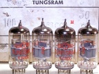 Tungsram E88CC April 1968 Gray Industrial Serial Numbers Etched in Glass 1 - Hungary