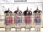 Tungsram E88CC April 1968 Gray Industrial Serial Numbers Etched in Glass 2 - Hungary