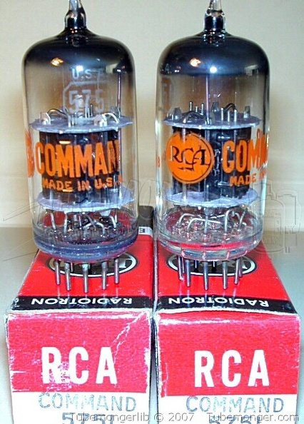 RCA 5751 Black Plates Extra Support Rods COMMAND SERIES 2 - USA.jpg