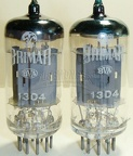 BRIMAR 13D4 - Early-1960s 13D4 Industrial 12AU7 Long Plate STC Production BVA - England