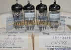 Matsushita ECC88 Japan Tektronix Select - Mullard Tooling Tektronix Select Tested and Aged Instrumentation Grade